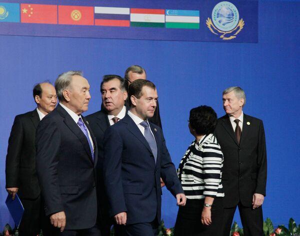 Los líderes de países integrados en la Organización de  Cooperación de Shanghai (OCS)  - Sputnik Mundo