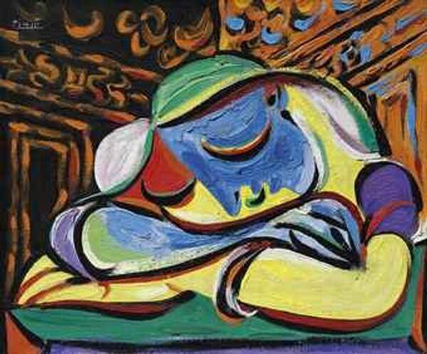 """El cuadro del pintor Pablo Picasso """"Joven dormida"""" - Sputnik Mundo"""