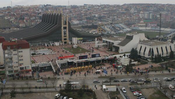 Capital de Kosovo - Pristina - Sputnik Mundo