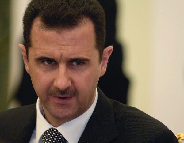 Bashar Asad - Sputnik Mundo