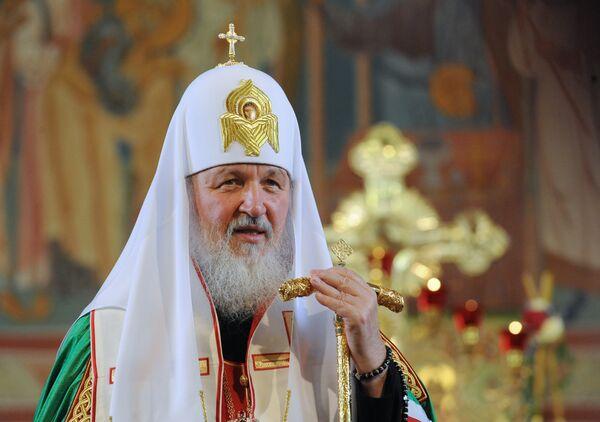 El patriarca de Moscú y toda Rusia, Kiril - Sputnik Mundo