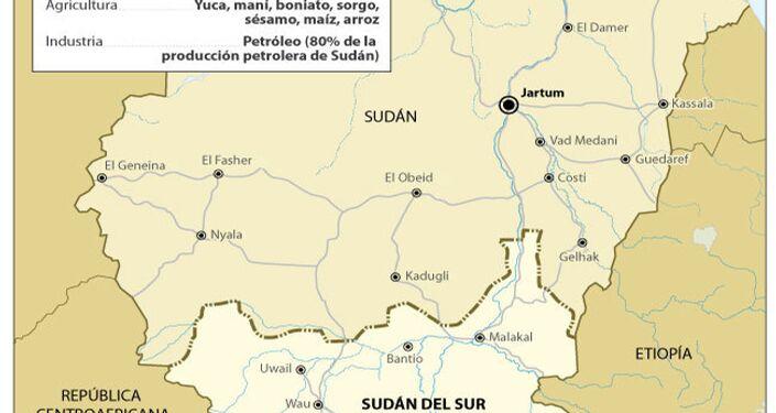 Sudán del Sur, nuevo Estado en el mapamundi