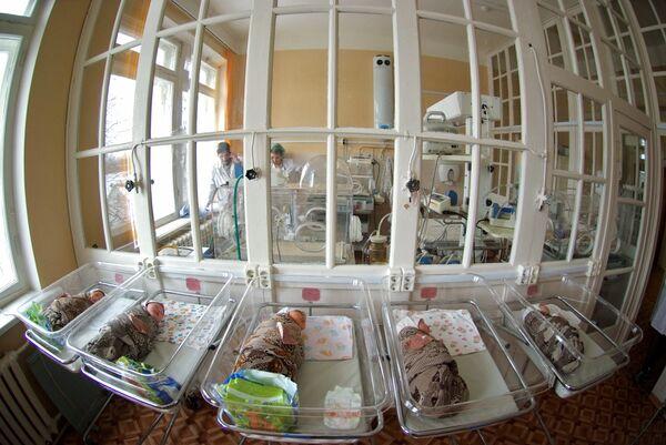 La tasa de natalidad en Rusia aumentó en más de un 5% en 2012 - Sputnik Mundo