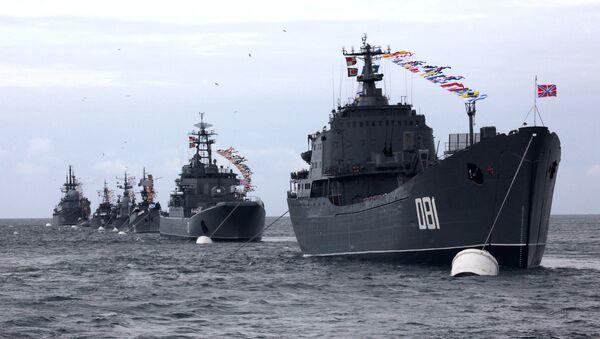 Buques de las Fuerzas Armadas de la Federación Rusa (archivo) - Sputnik Mundo