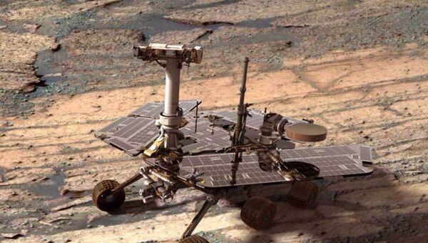 Rover estadounidense Opportunity - Sputnik Mundo