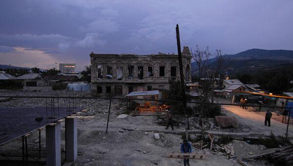 Tsjinvali un año después del conflicto militar con Georgia - Sputnik Mundo