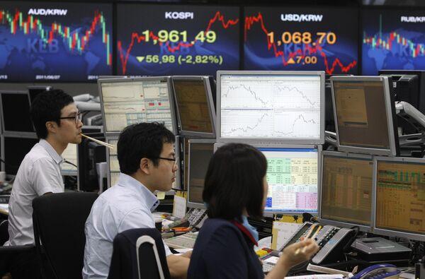 Bolsas asiáticas abren al alza ante noticias positivas desde otros mercados - Sputnik Mundo