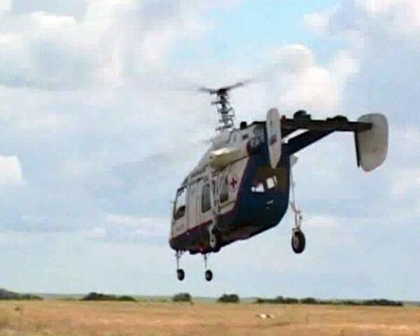 Helicóptero gigante y ambulancia volante debutan en MAKS 2011  - Sputnik Mundo