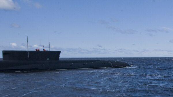 El submarino nuclear ruso Yuri Dolgoruki - Sputnik Mundo