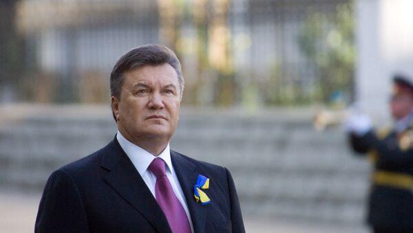 Víctor Yanukóvich, el expresidente ucraniano - Sputnik Mundo