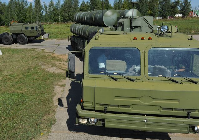 Sistema antiaéreo S-400 Triumf