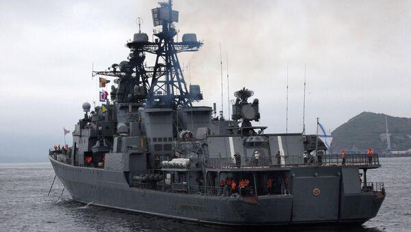 Buque Almirante Panteléev - Sputnik Mundo