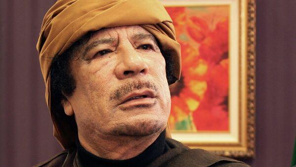 Muamar Gadafi, exlíder de Libia - Sputnik Mundo