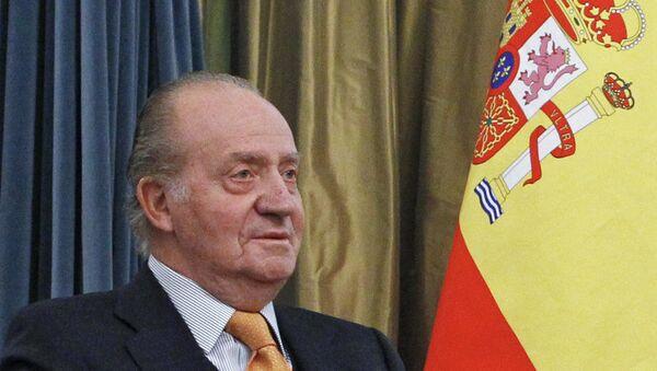Rey de España Juan Carlos I (archivo) - Sputnik Mundo