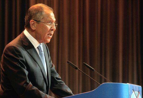 El ministro ruso de Asuntos Exteriores, Serguei Lavrov - Sputnik Mundo