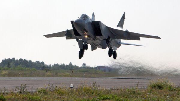 Caza MiG-31 (archivo) - Sputnik Mundo