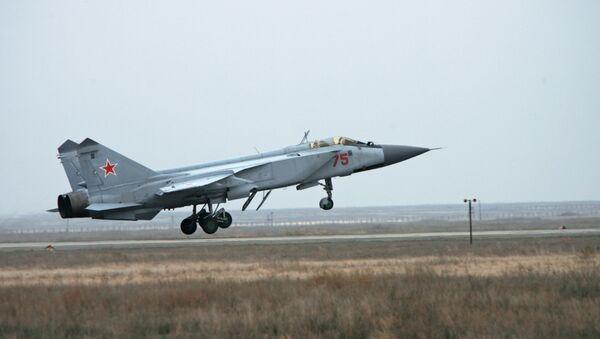 El caza MiG-31 - Sputnik Mundo