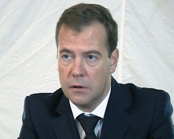 Medvédev promete seguir de cerca la investigación del accidente de Yaroslavl - Sputnik Mundo