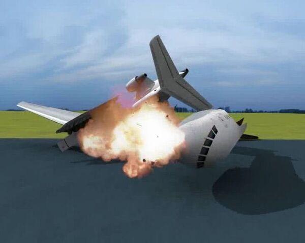 Reconstrucción del accidente del Yak-42 en la provincia de Yaroslavl - Sputnik Mundo