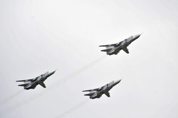 Los bombarderos Su-24 - Sputnik Mundo