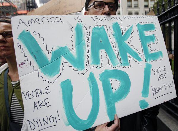 Las protestas en Nueva York pueden extenderse por todo el territorio de EEUU - Sputnik Mundo