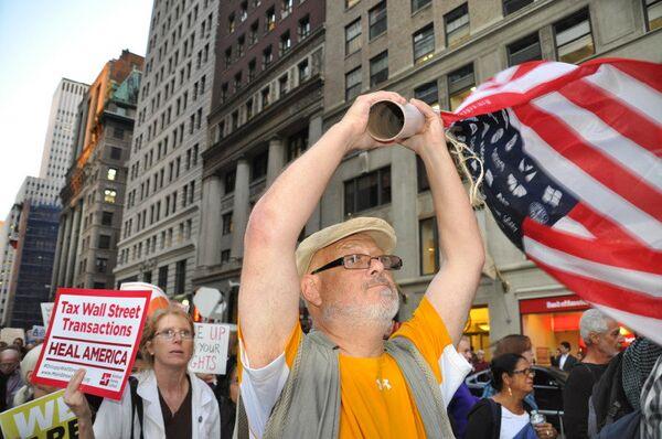 Manifestantes en Nueva York alcanza cifra récord - Sputnik Mundo