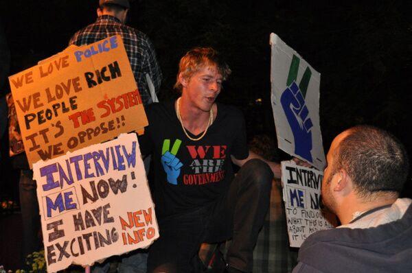 """El movimiento """"Ocupa Wall Street"""" puede convertirse una protesta global - Sputnik Mundo"""