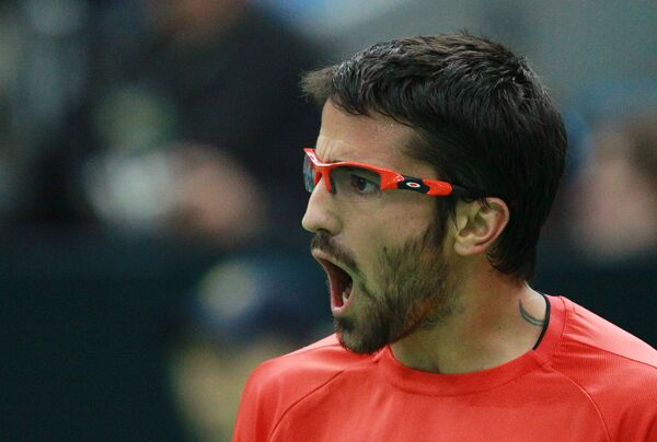 Las emociones de la Copa Kremlin de tenis 2011 - Sputnik Mundo