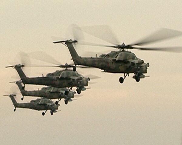 Cazador Nocturno vs Aligator: Mi-28N y Ka-52 se miden en combate virtual - Sputnik Mundo