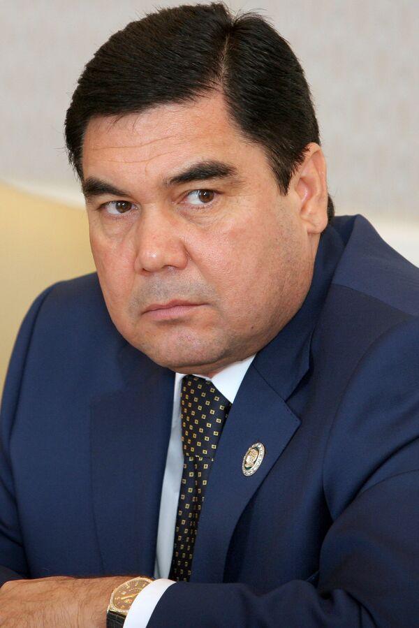 Gurbanguly Berdimuhamedow, presidente deTurkmenistán - Sputnik Mundo
