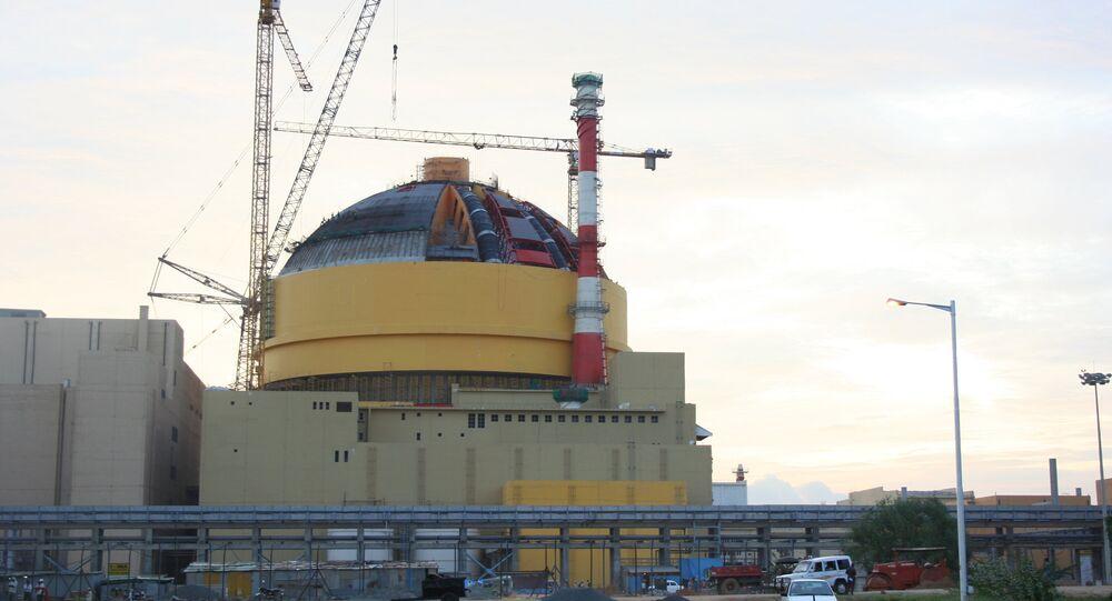Construcción de una planta nuclear