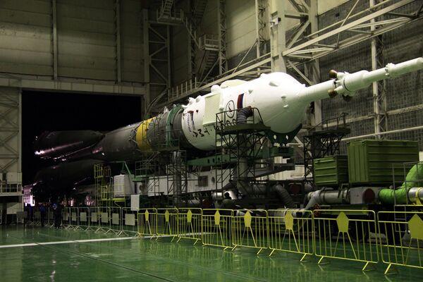 Rusia ultima preparativos para lanzar el cohete Soyuz a la ISS - Sputnik Mundo