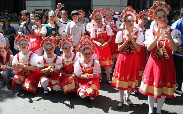 """Festival """"Madrecita Rusia"""" se celebra en Buenos Aires - Sputnik Mundo"""
