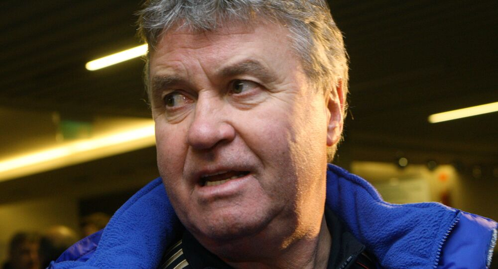Guus Hiddink, técnico holandés