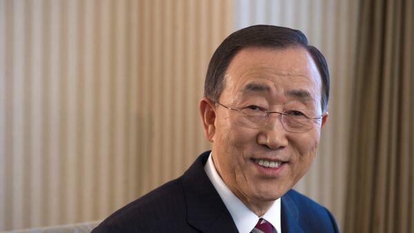 Ban Ki-moon, secretario general saliente de la ONU - Sputnik Mundo