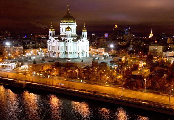 La historia de Catedral de Cristo el Salvador en imágenes  - Sputnik Mundo