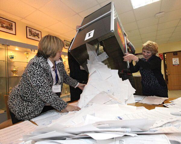 Observadores de PACE y OSCE critican proceso de recuento electoral en Rusia - Sputnik Mundo