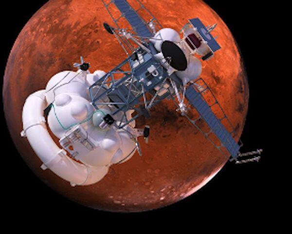 La sonda interplanetaria rusa Fobos-Grunt - Sputnik Mundo