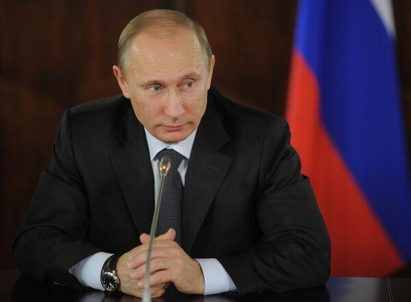Primer ministro y candidato a la presidencia de Rusia, Vladímir Putin - Sputnik Mundo