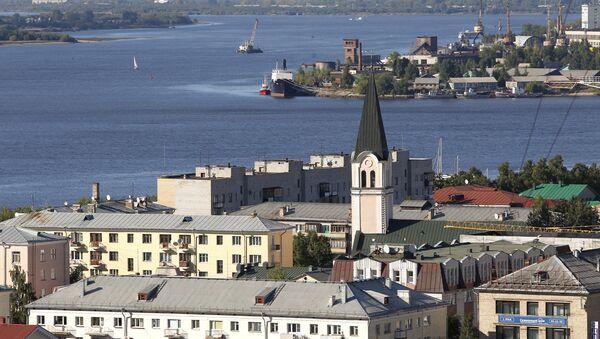Vista a la ciudad rusa de Arjánguelsk - Sputnik Mundo