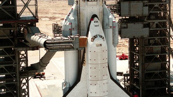La nave espacial Buran (archivo) - Sputnik Mundo