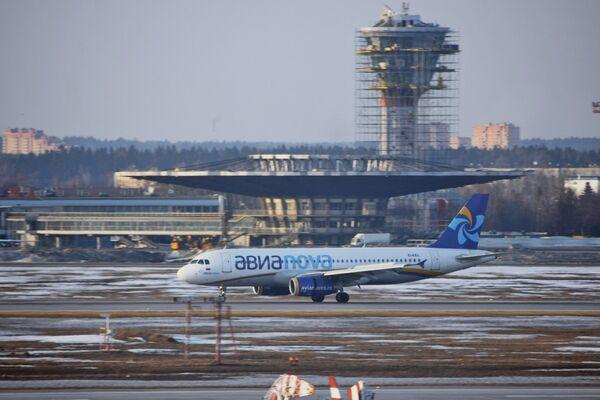 Aeropuerto internacional Sheremétievo de Moscú - Sputnik Mundo