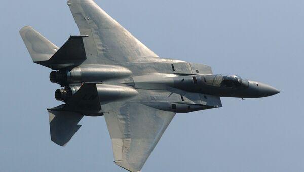 La caza estadounidense F-15 - Sputnik Mundo