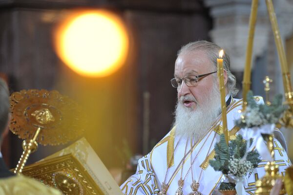 Patriarca Cirilo sugiere a las autoridades escuchar a la oposición y corregir rumbo - Sputnik Mundo