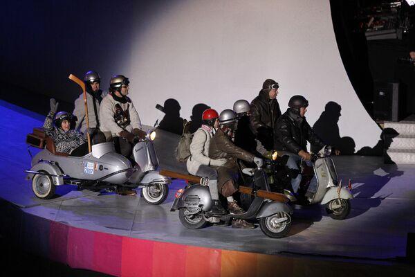 Ceremonia de inauguración de los primeros Juegos Olímpicos de la Juventud  de Invierno en Austria - Sputnik Mundo