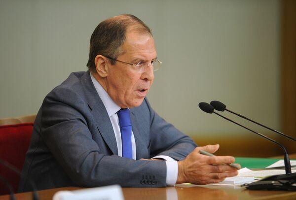 El canciller ruso Serguél Lavrov - Sputnik Mundo
