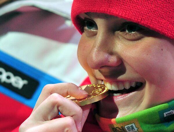 Medallistas rusos de los primeros Juegos Olímpicos de la Juventud de Invierno - Sputnik Mundo