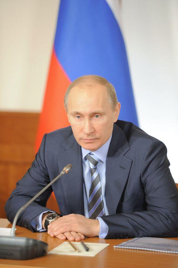 Putin dice que la política de seguridad de EEUU es nociva para el mundo - Sputnik Mundo