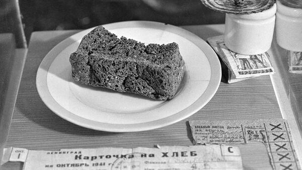 El pan del bloqueo - Sputnik Mundo