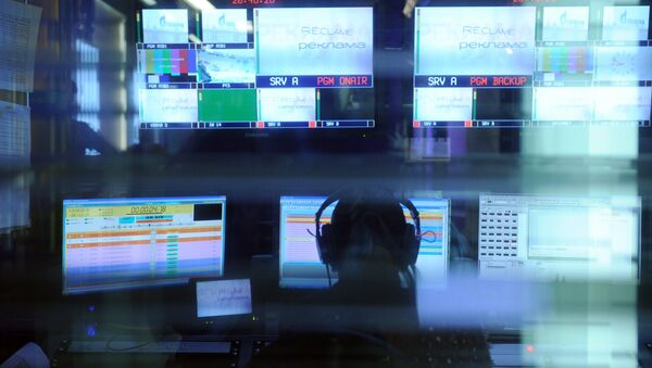 Un estudio de televisión - Sputnik Mundo